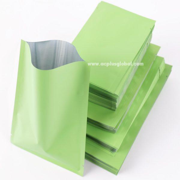 ซองซีลสามด้าน สีเขียวด้าน