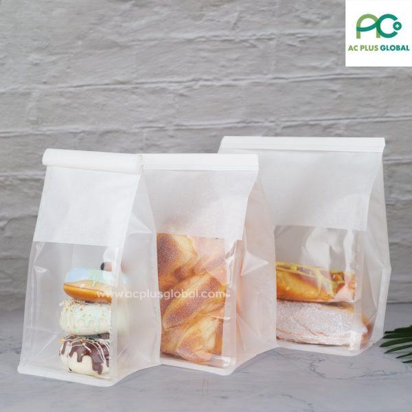 ถุงใส่ขนมปัง ถุงขนมปัง เบเกอรี่ ถุงใส่ขนม