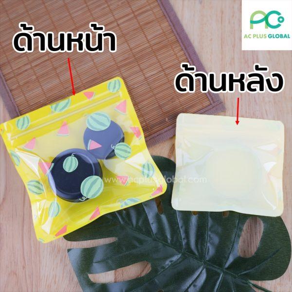 ซองซิป พลาสติกใส ลายน่ารัก ซองใส่ของ ถุงใส่ขนม